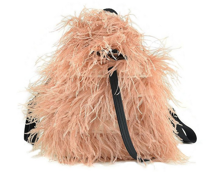 Pink Feathers Backpack - N°21