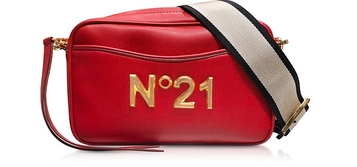 Camera Bag en Cuir Nappa - N°21