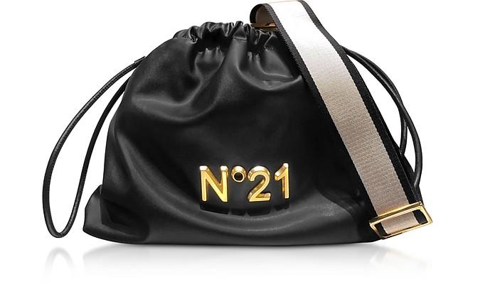Secchiello in Nappa con Logo e Tracolla - N°21