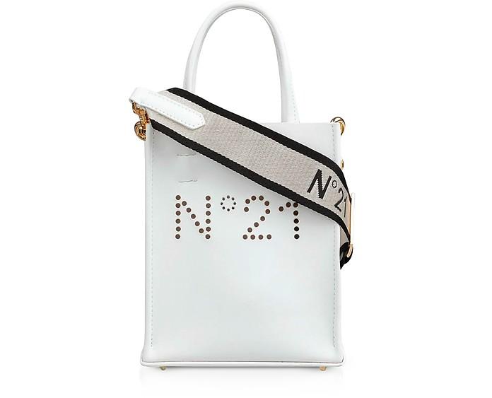 Mini Nappa Shopping Bag - N°21