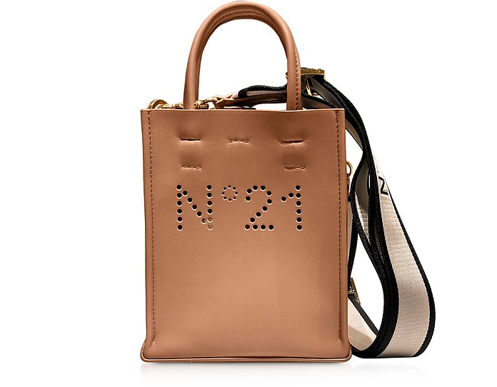 Mini Nappa Shopping Bag - N°21
