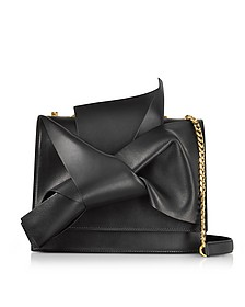 Nappa Leather Large Bow Bag w/Shoulder Strap - N°21