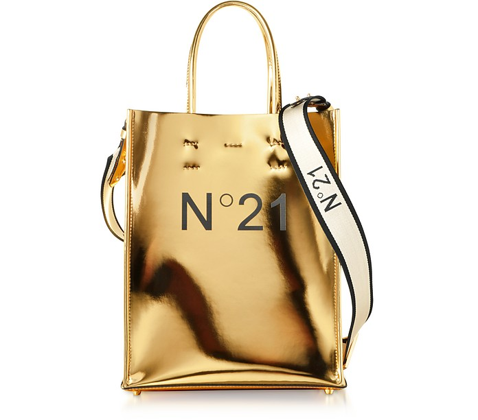 Small Platinum Shopping Bag - N°21