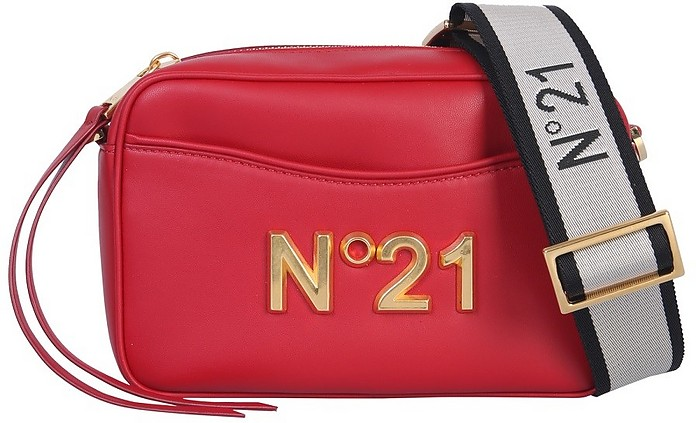 Leather Shoulder Bag - N°21