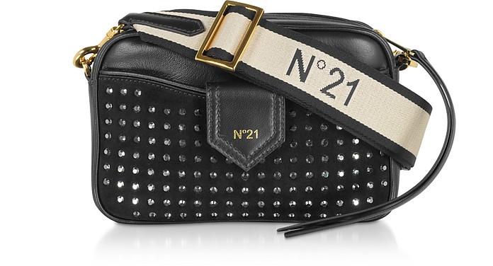 Black Studded Camera Bag - N°21