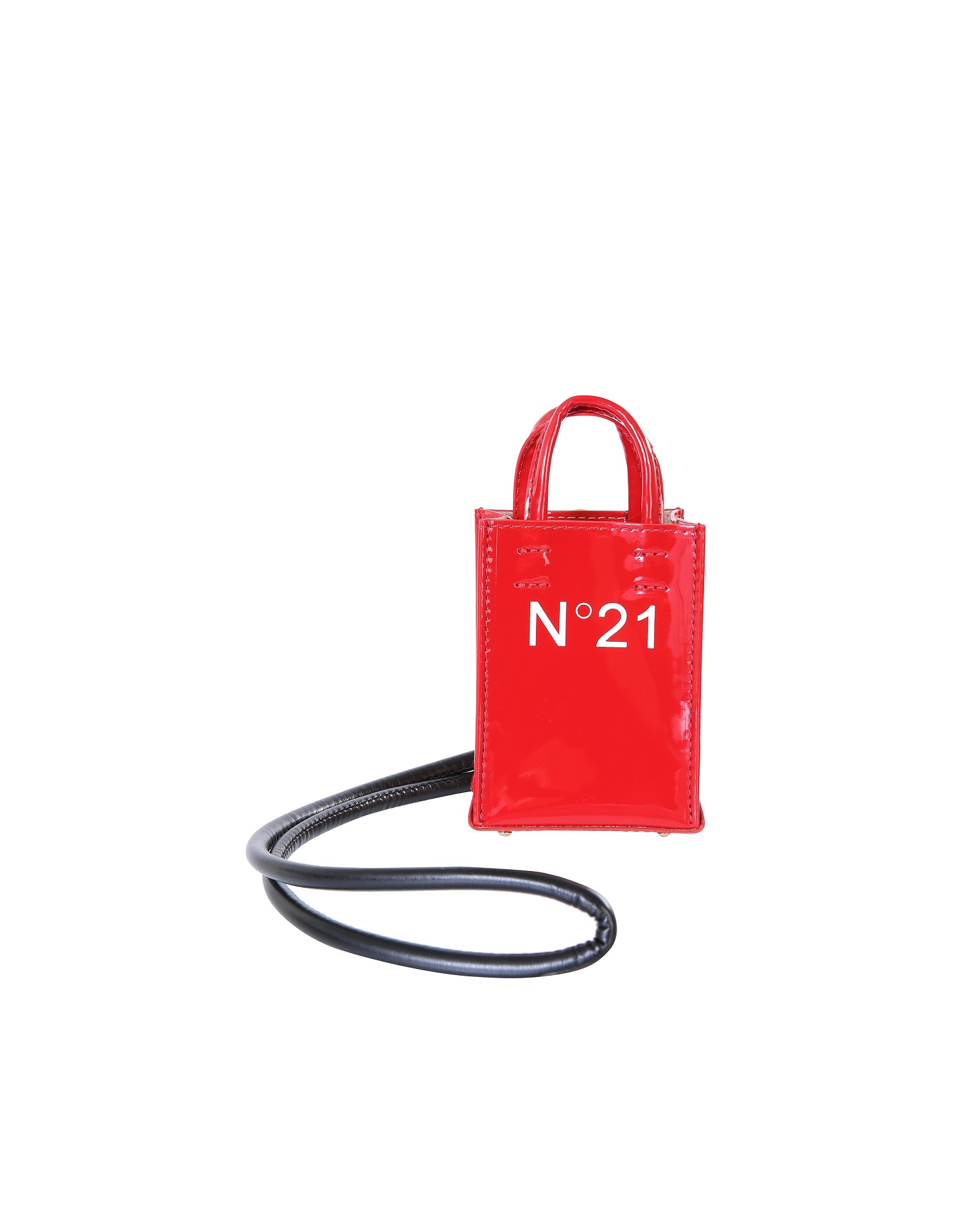 N°21 NANO SHOPPING BAG WITH LOGO