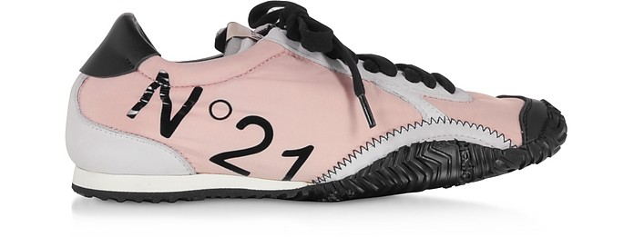Gymnic Calf Leather & Synthetic Women's Sneakers - N°21