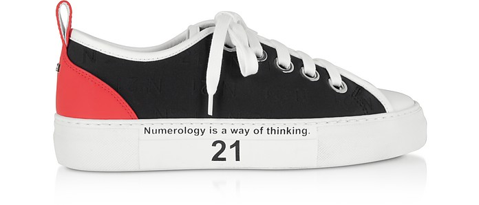 Black Gymnic Women's Sneakers - N°21