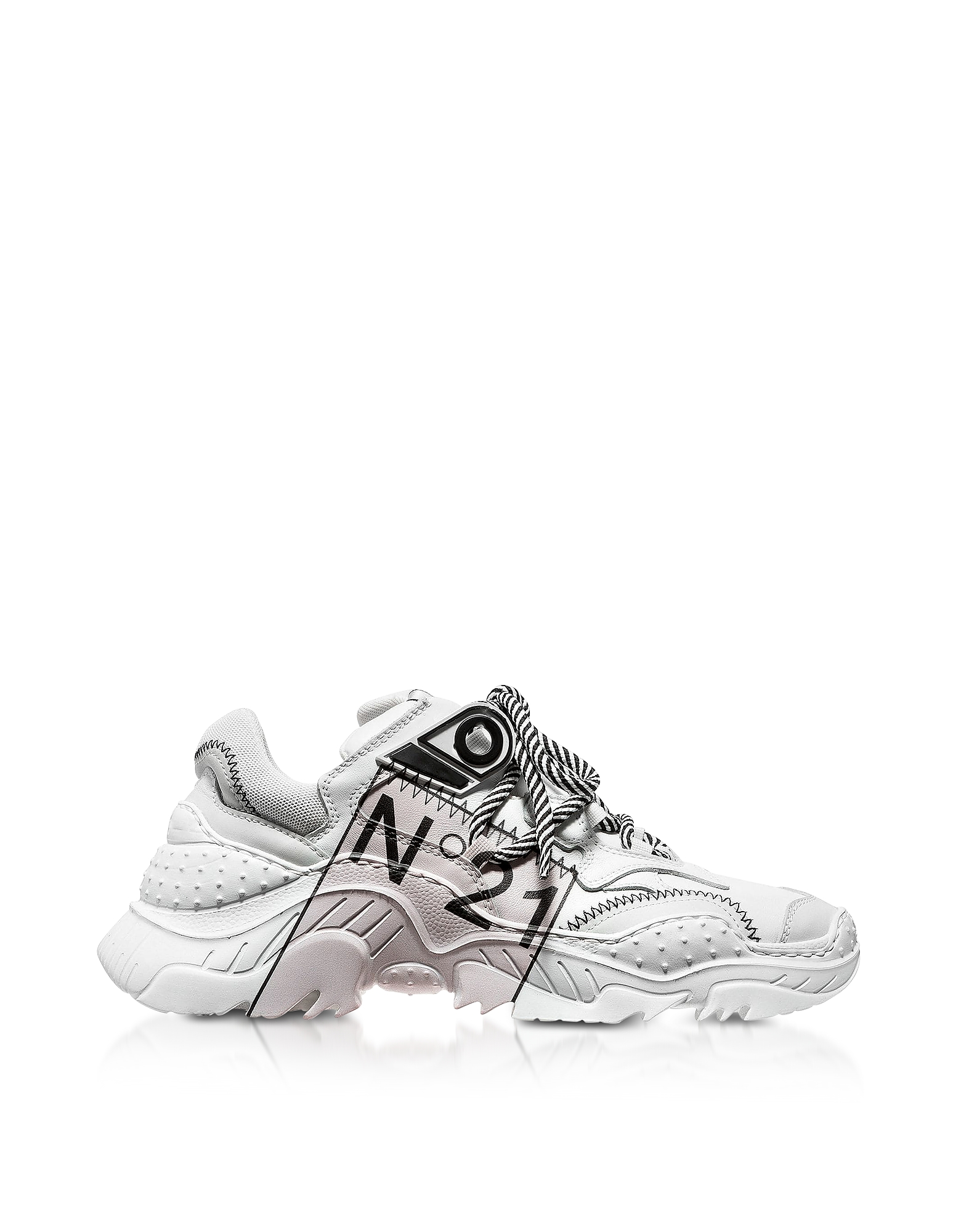 N°21 Sneakers BILLY LIMITED EDITION WHITE WOMEN'S SNEAKERS