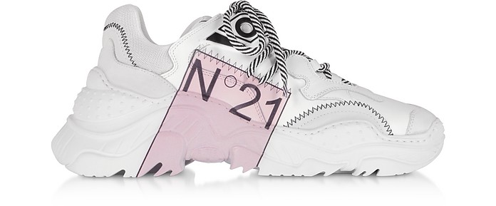 Billy Limited Edition White Women's Sneakers - N°21