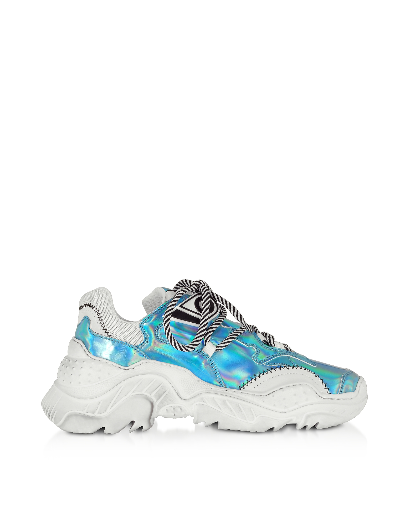 N°21 Sneakers BILLY HOLOGRAPHIC EFFECT WOMEN'S SNEAKERS
