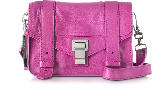 Berry PS1 Mini Lux Leather Crossbody - Proenza Schouler
