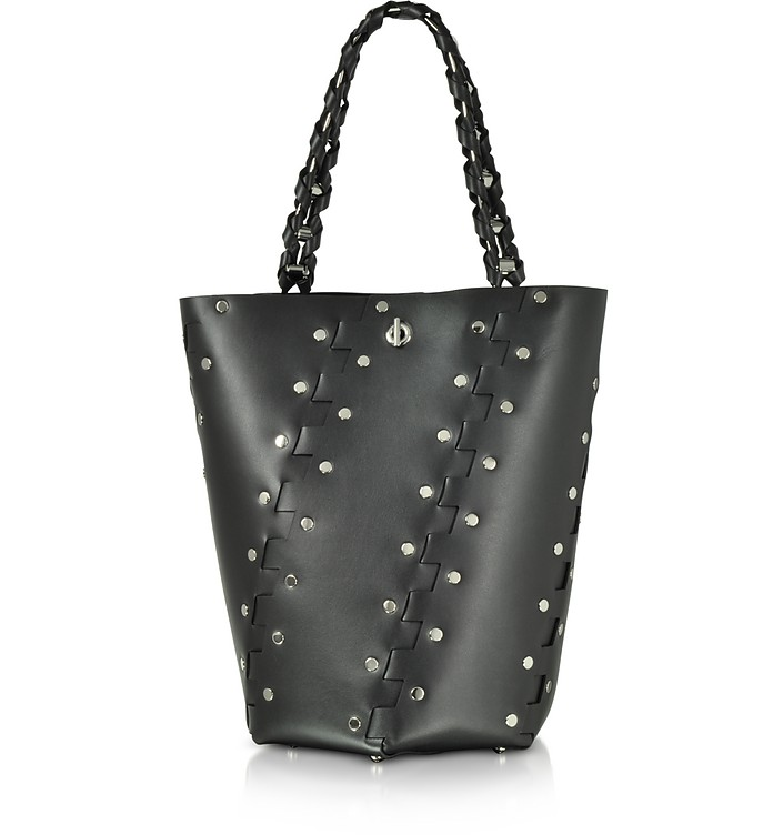 Studded Hinges Medium Hex Bucket Bag - Proenza Schouler