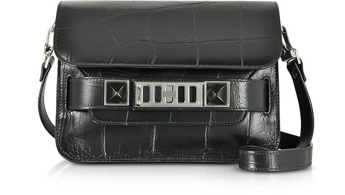 Proenza SchoulerEmbossed Croc PS11 Mini Classic