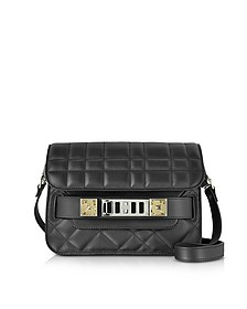 Black Quilted Leather PS11 Mini Classic Shoulder Bag - Proenza Schouler