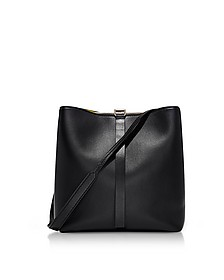 Black Leather Frame Shoulder Bag - Proenza Schouler