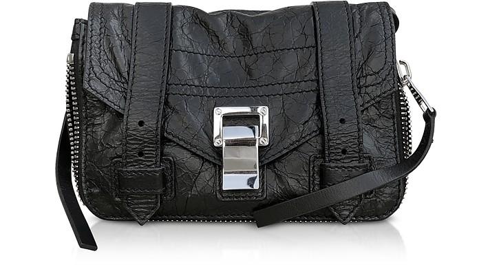 Zip-Paper Leather Ps1+ Mini Crossbody Bag - Proenza Schouler