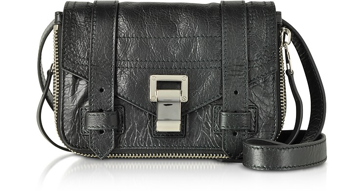 Zip-Paper Leather Ps1+ Mini Crossbody Bag - Proenza Schouler
