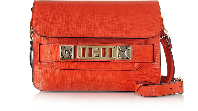 Kappa Red New Linosa Ps11 Mini Classic Shoulder Bag - Proenza Schouler