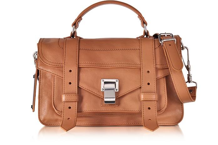 PS1 Tiny Dune Lux Leather Satchel Bag - Proenza Schouler