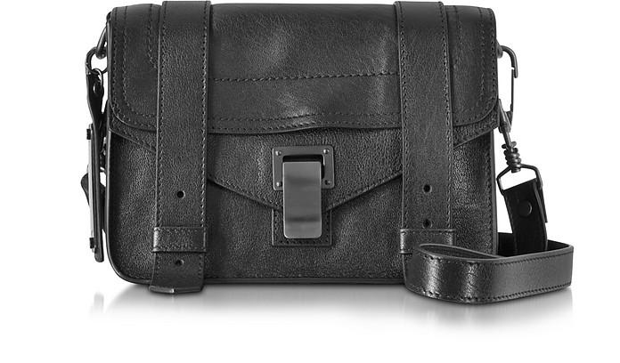 PS1 Mini Black Lux Leather Crossbody  - Proenza Schouler