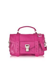 PS1 Tiny Peony Lux Leather Satchel Bag - Proenza Schouler