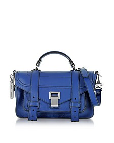 PS1 + Tiny Lapis Leather Flap Handbag - Proenza Schouler