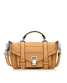 PS1+ Tiny Wheat Leather Flap Handbag - Proenza Schouler