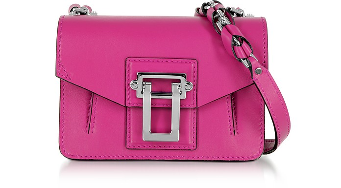 Hava Chain Peony Smooth Leather Crossbody Bag w/Whipstitch - Proenza Schouler