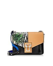 Black Printed Mix Hava Shoulder Bag - Proenza Schouler