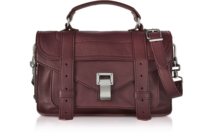 PS1 Tiny Cordovan Lux Leather Satchel Bag - Proenza Schouler