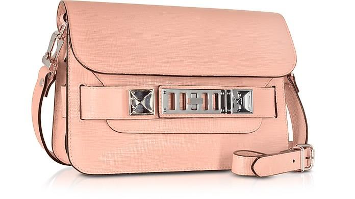 cd94e06208fa Proenza Schouler PS11 Mini Classic Deep Blush New Linosa Leather Shoulder  Bag