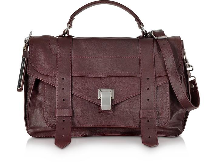 PS1 Medium Cordovan Lux Leather Satchel Bag - Proenza Schouler