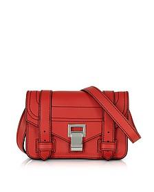 PS1+ Cardinal Grainy Leather Mini Crossbody Bag - Proenza Schouler