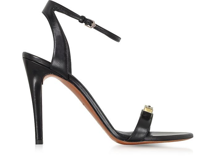 Black High Heel Leather Sandal - Proenza Schouler