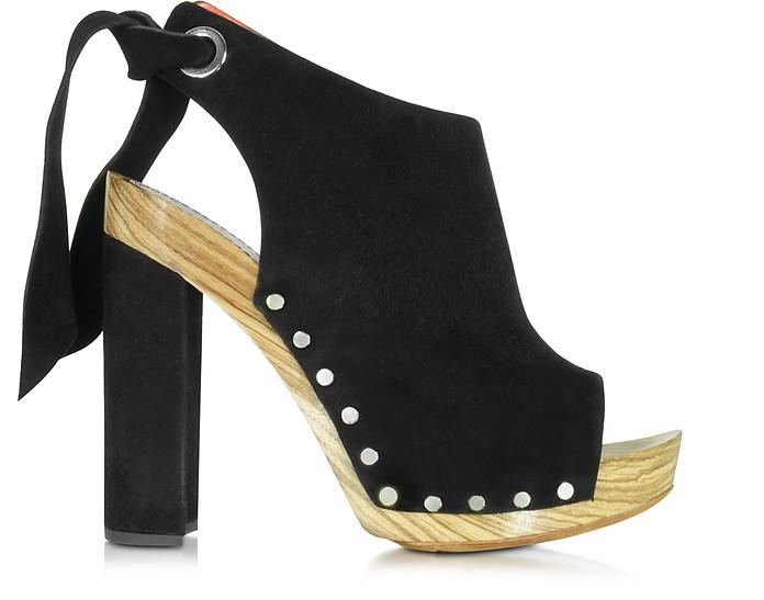 Black Suede Platform Sandal - Proenza Schouler