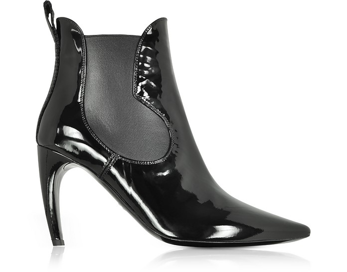 Black Patent Leather Boots - Proenza Schouler