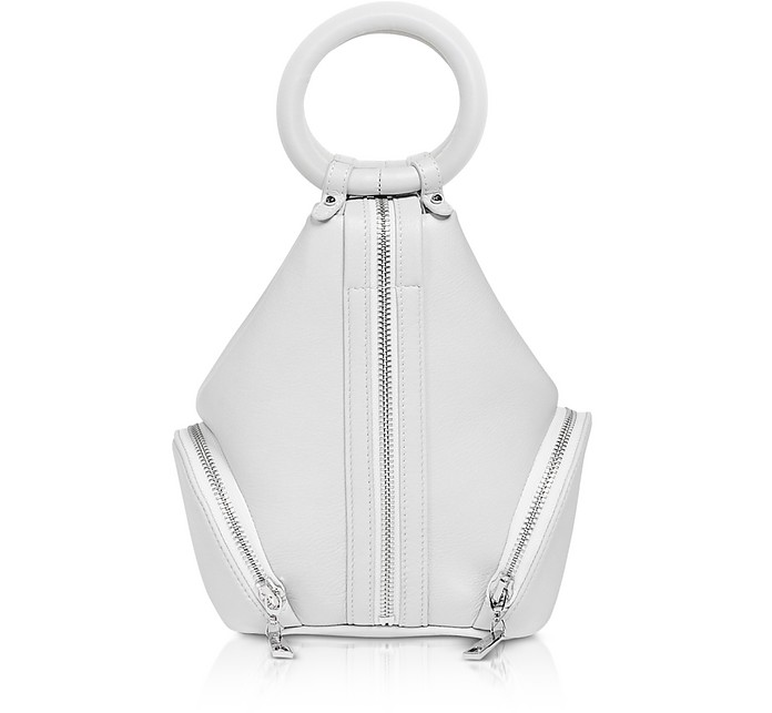 Ecru Leather Eve Micro Bag - Complet