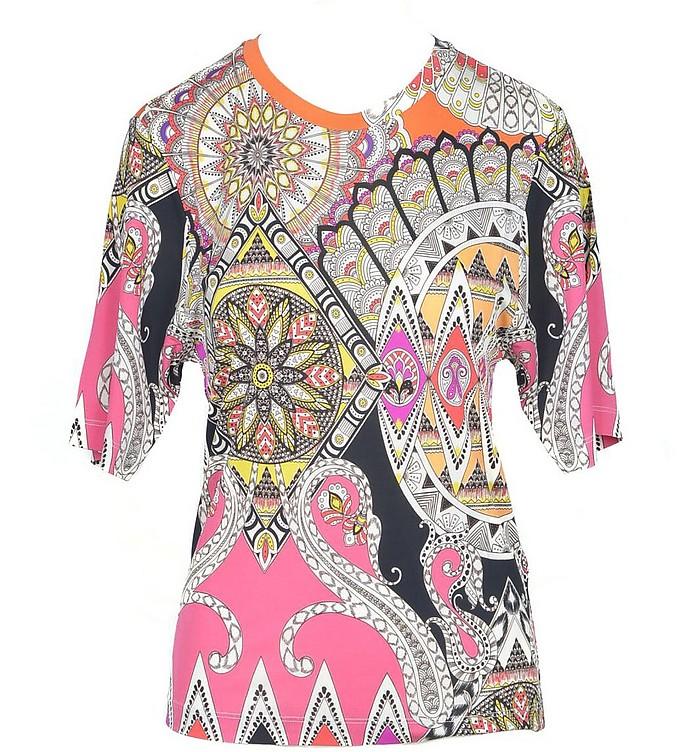 Women's Multicolor Tshirt - Etro