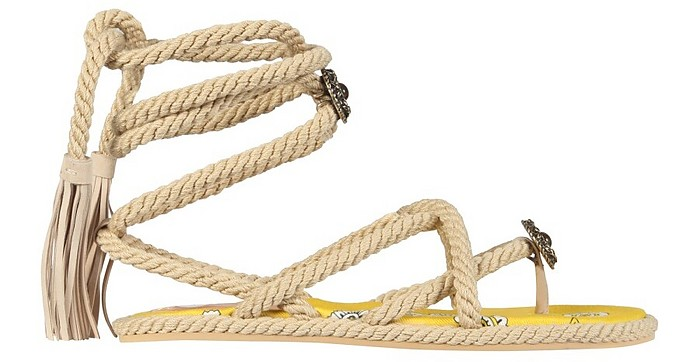Low Thong Sandals - Etro