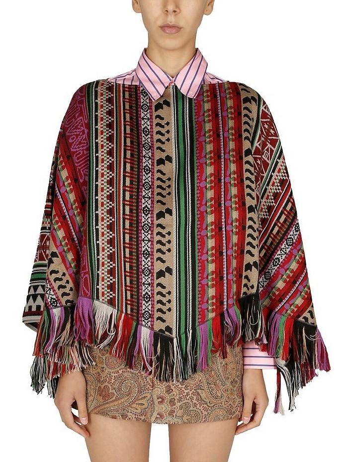 Wool Poncho - Etro