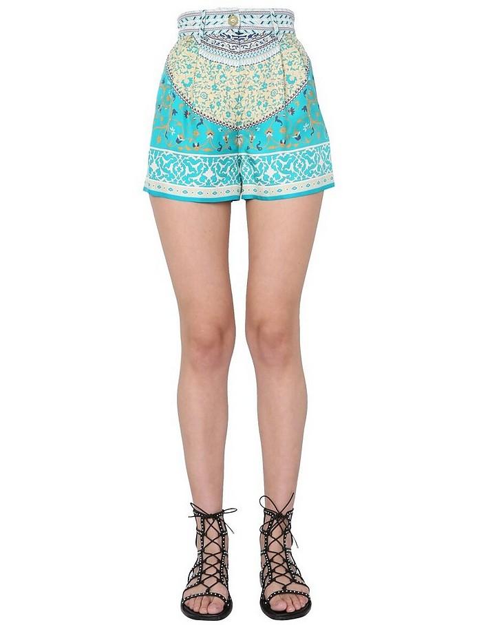 Silk Shorts - Etro
