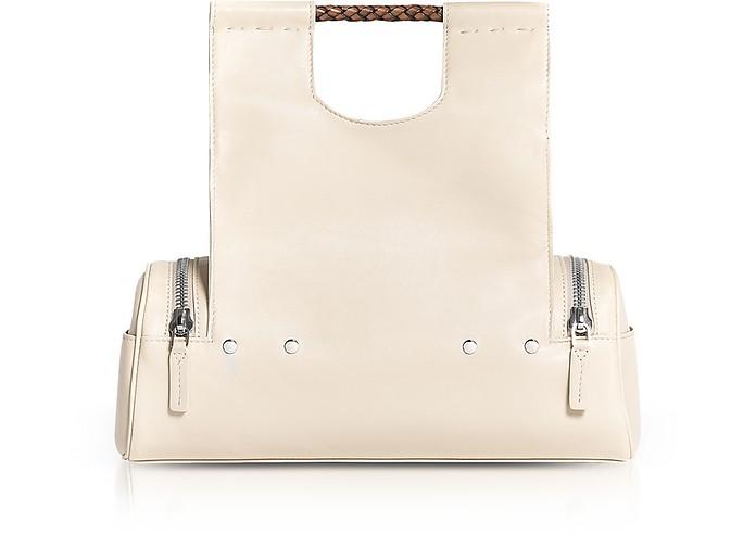 Genuine Leather Priscilla Medium Tote Bag - Corto Moltedo
