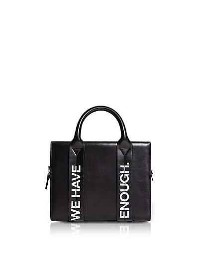 Costanzita Leather We Have More Than Enough Tote Bag - Corto Moltedo