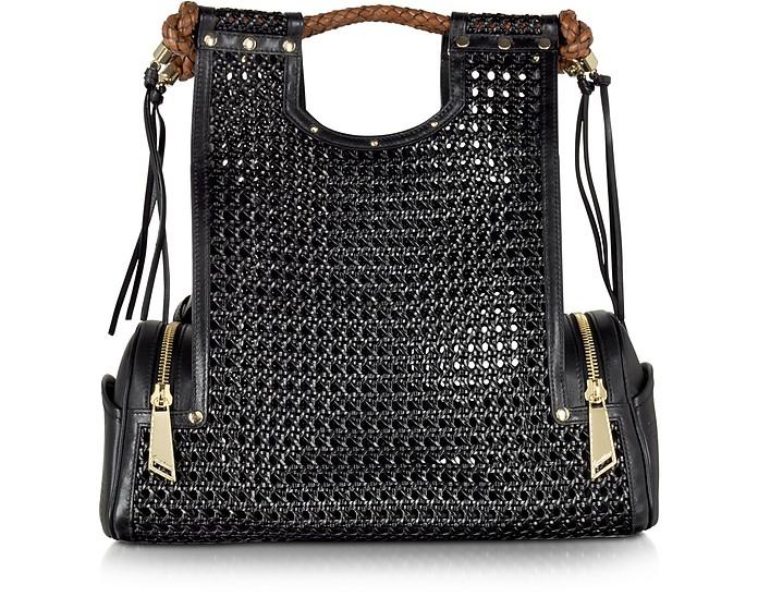 Priscilla New Black Bentota Tote Bag - Corto Moltedo