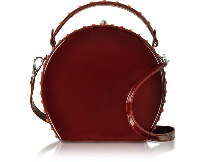 Chianti Leather Bertoncina Satchel Bag - Bertoni 1949