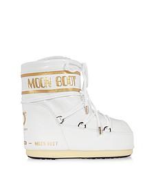 Classic 50 White Crocodile Boots