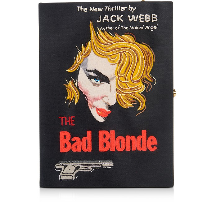 THE BAD BLONDE STRAPPED BOOK CLUTCH