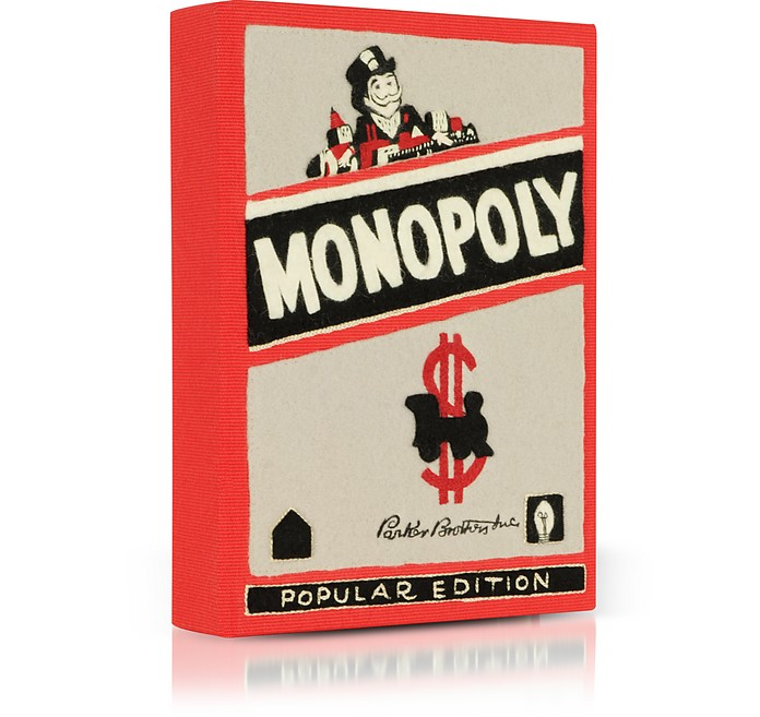 Cotton Popular Olympia Book Le Edition Clutch Monopoly And Tan Wool WIY2EDH9