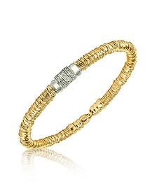 Capriccio - Schlangenarmband aus 18k Gold mit Diamanten - Orlando Orlandini
